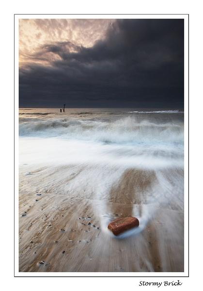 Stormy Brick by Chriscj