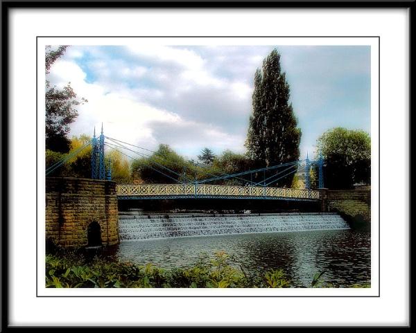 Mill Suspension Bridge by KKmoments