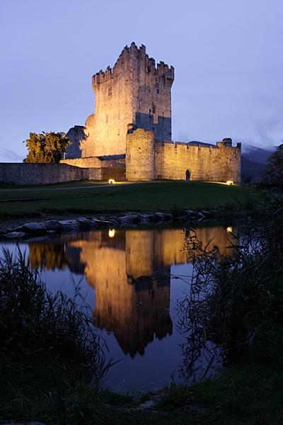 ross castle by lightning