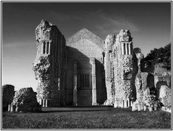 Binham Priory by Bellie