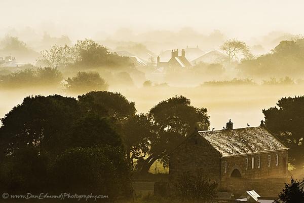 Mist Morning over Vazon by Guernseydan
