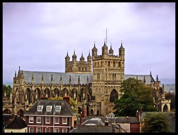 Exeter Cathedral by KarenFB