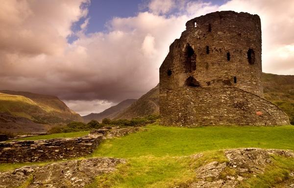 Dolbadarn Castle by jer