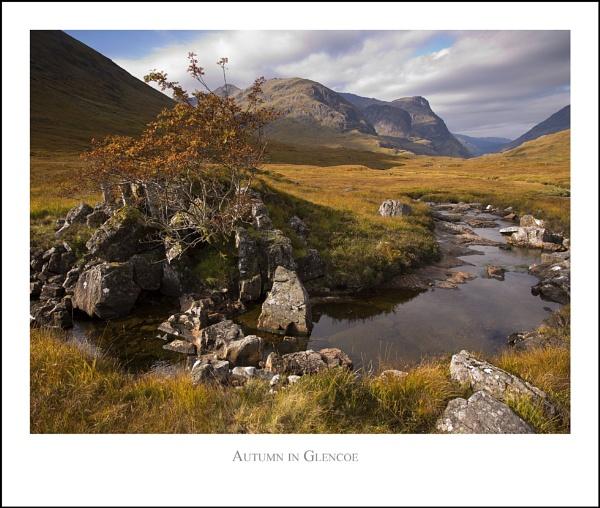 Autumn in Glencoe... by Scottishlandscapes