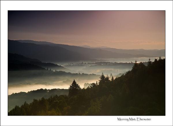 Elterwater Mist by gnospellius