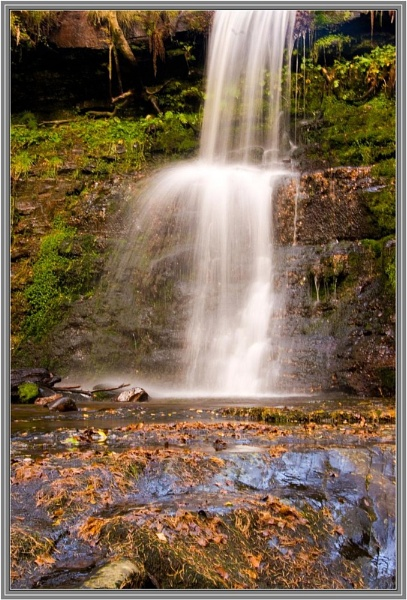 Brecon Waterfalls 11 by Lenr