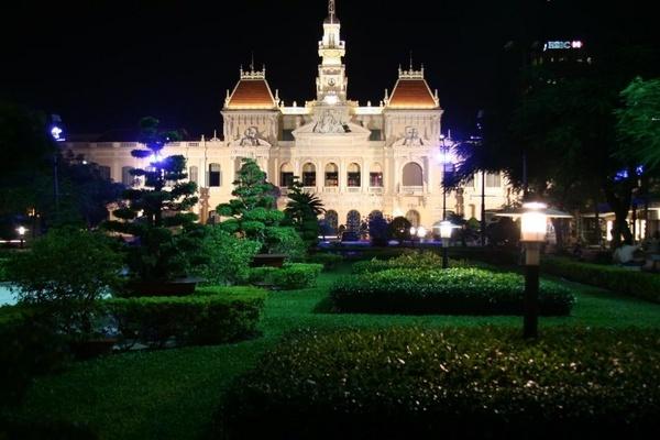 City Hall of Saigon by paulvo