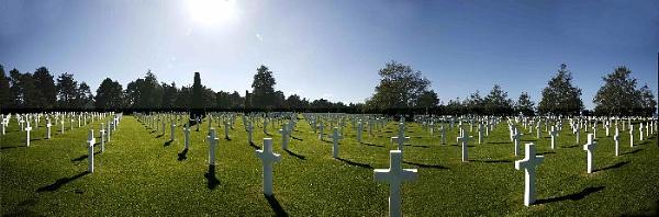 American cemetery by BertieP