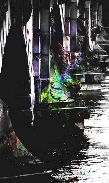 Bridge In Shrewsbury by mairit