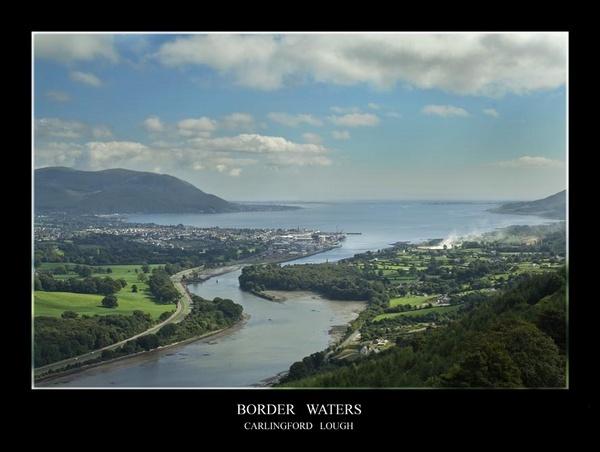 Border Waters - Carlingford Lough by maytownme