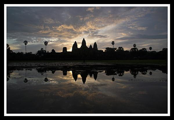 Angkor Wat, Sunrise by Skier