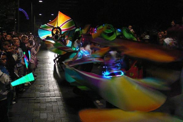 Carnival at Night by KarlmarxEra
