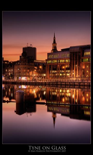 Tyne on Glass by culturedcanvas