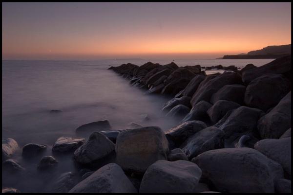 Kimmeridge sunset 2 by Davidharlyson