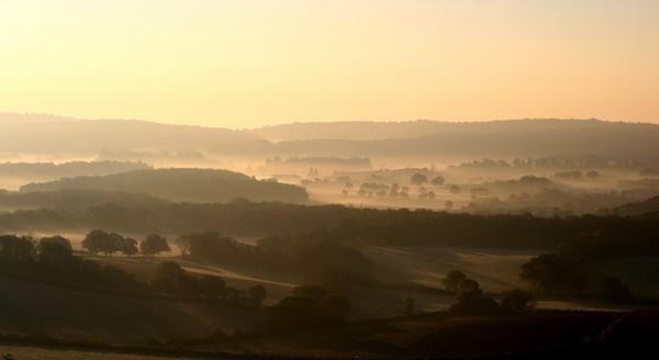 Misty morning by jcf