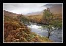 Autumn day in Glen Etive by cullachie