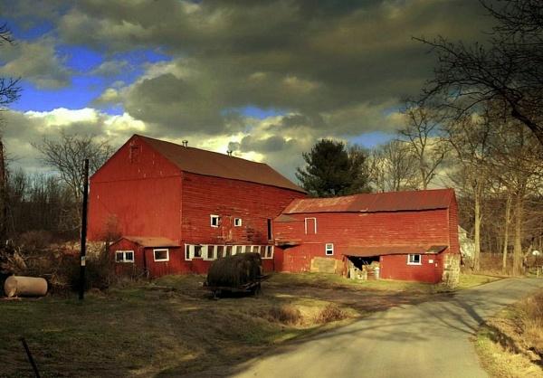 Country Farm by Rainy