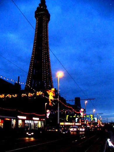 Blackpool Tower by danceCOCOdance