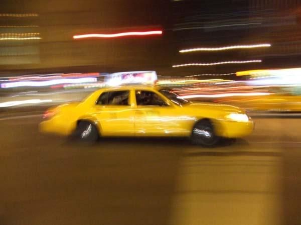 Speeding Taxi by david_jelly