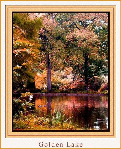 Golden Lake by daringdaphne