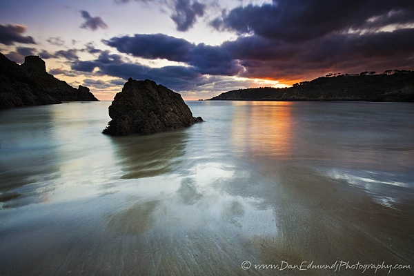 Petit Port Low Tide by Guernseydan