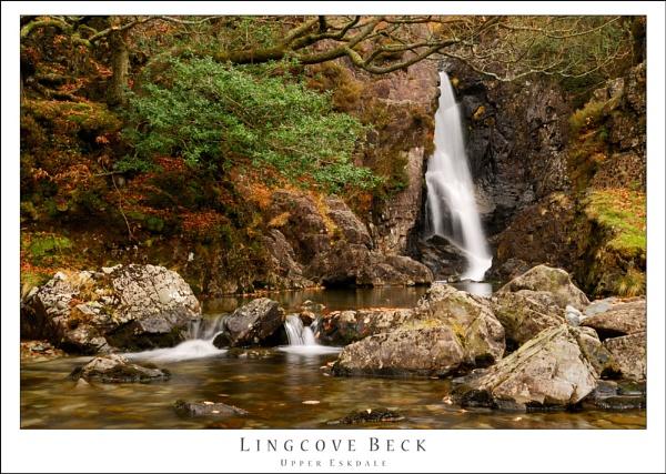 Lakeland Waterfall by JohnParminter