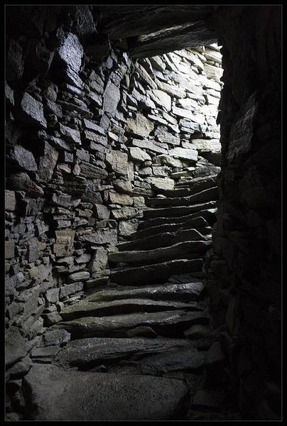 Inside The Broch by calemdon