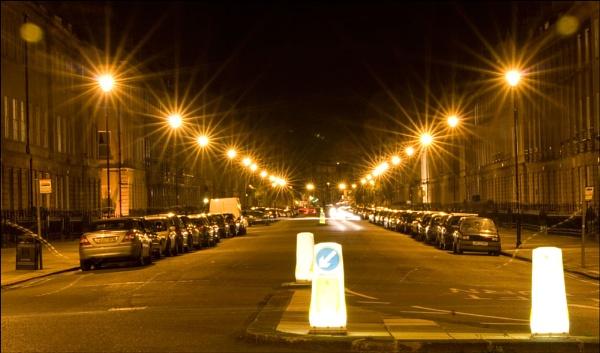 Midnight Traffic by Davidharlyson