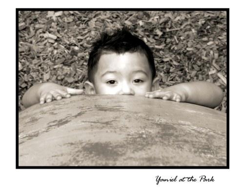 Yaniel at the Park by romelyanielsharon