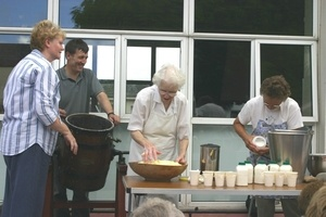 butter making at carnlough by ardclinis
