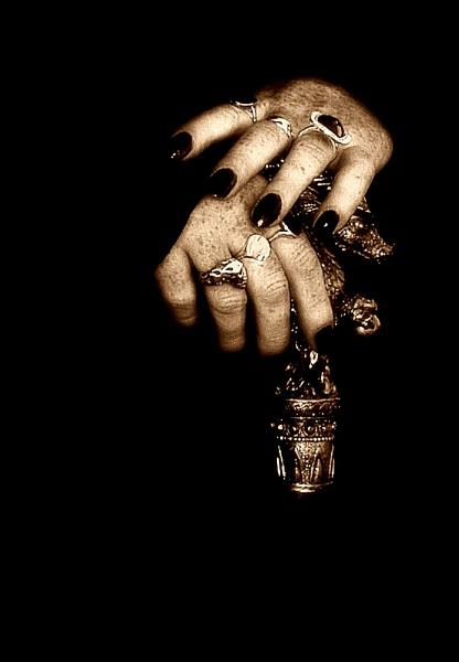 Goth Hands by Glynn