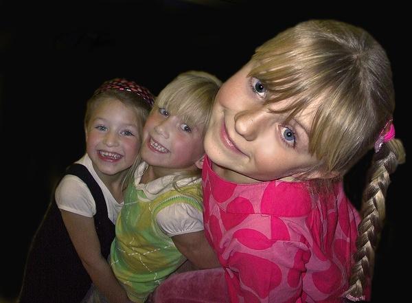 Cute kids having fun by imagio