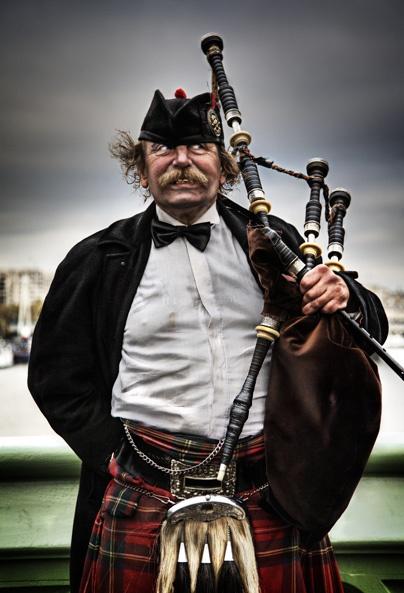 scotish man in London by mirchevphotography
