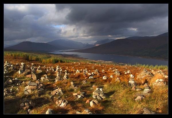Cairn above Loch Loyne by AliMurray