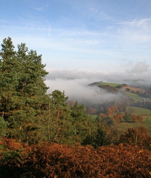 Pontsford Hill, Shropshire by ABiggs