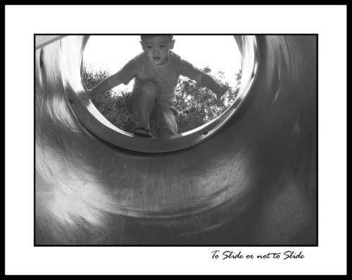 To Slide or not to Slide by romelyanielsharon
