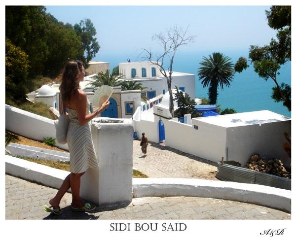 Sidi Bou Said in Tunisia by olesyak