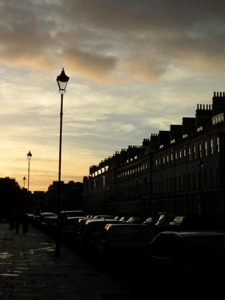 Pulteney Street in Twighlight by watspot