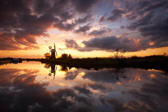 Norfolk Broads Reflections by Chris_H