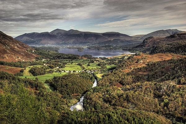 View of Derwent Water by davey