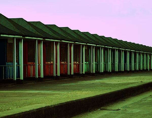 Beach Huts by boiledegg