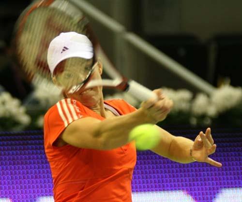 Justine Henin, Sony Ericsson Championship 2007 by irish