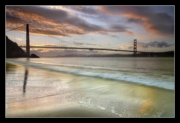 Golden Gate Dawn #1 by PatrickSmith