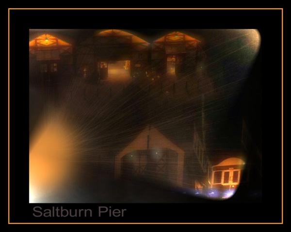 Saltburn Pier by RoseTeal