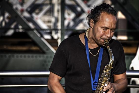 jazz on the bridge by mirchevphotography