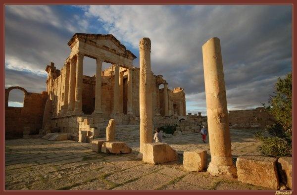 Temple Of Jupiter II by justbrock