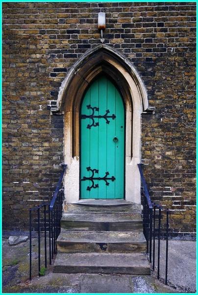 Behind the Green door by looboss
