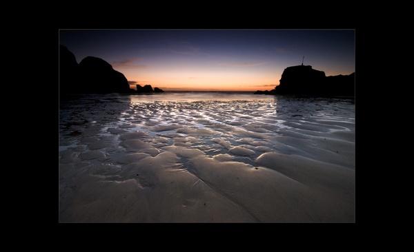 Sunset Sand by tavm