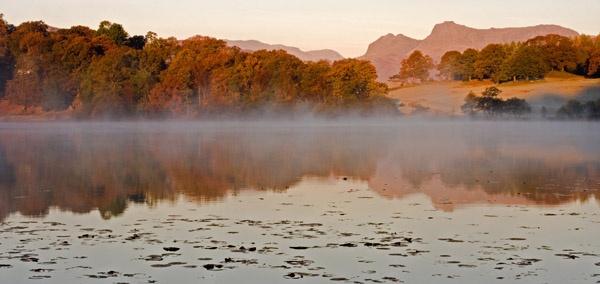 Mist on the Tarn by bazhutton
