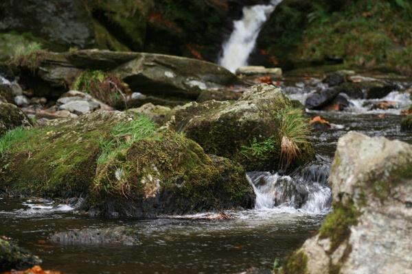 Pistyll Rhaeadr Waterfall by ABiggs